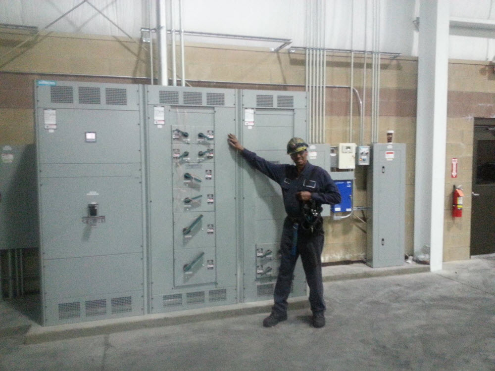 Industrial Electrical Work By A Master Electrician